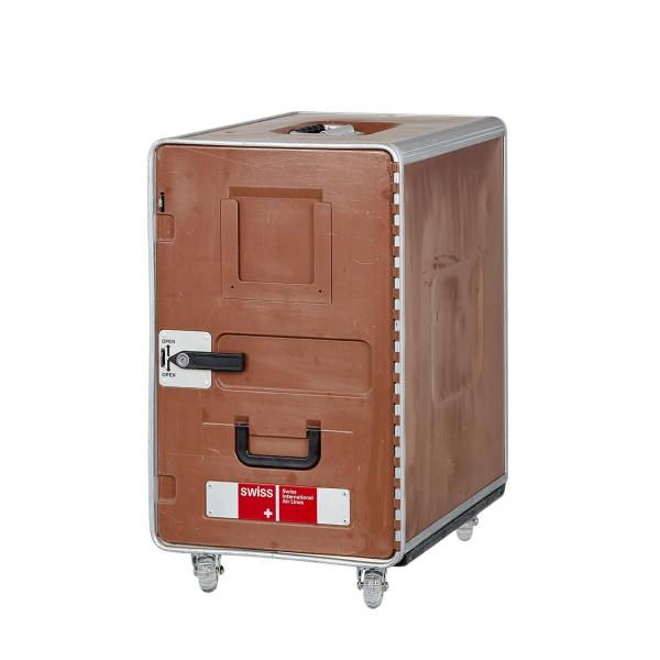 SWISS Bord Box XL Mokka mit Rollen von VanDeBord.
