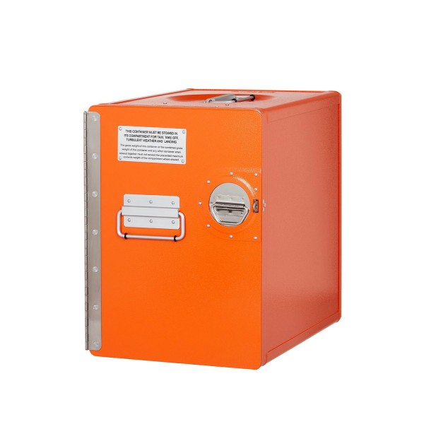 Bord Box L in Orange von VanDeBord.