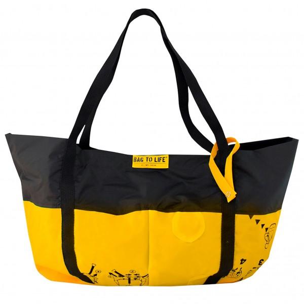 Bag To Life Strandtasche Schwarz