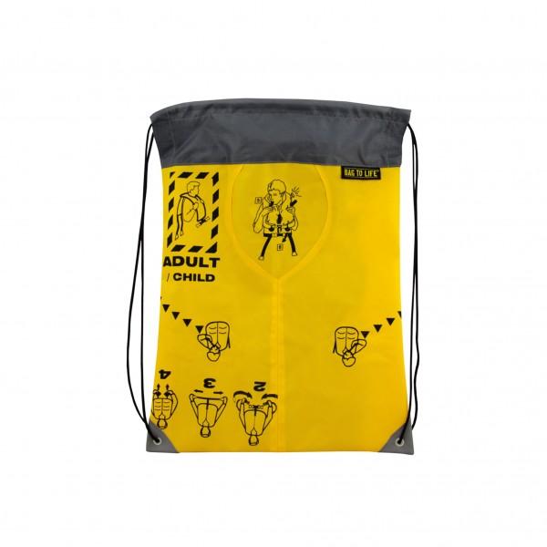 Bag To Life Sportbeutel Sky Gym Grau
