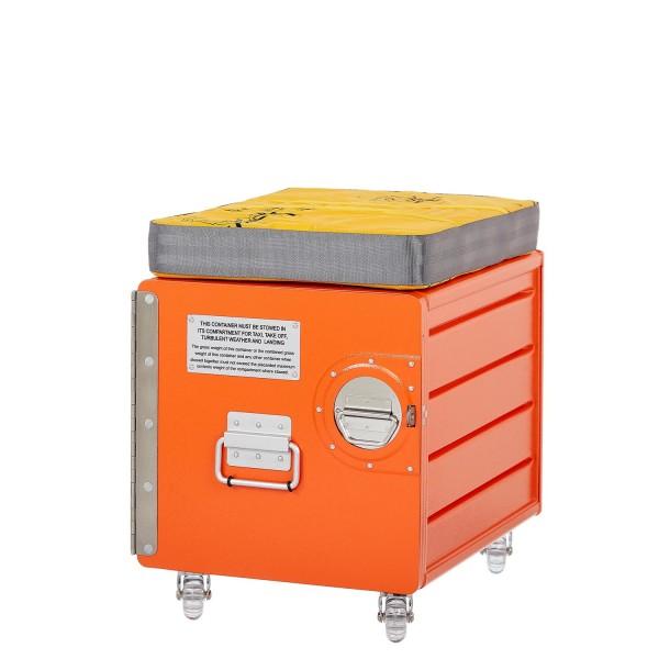 Bord Box M Hocker in Orange von VanDeBord.